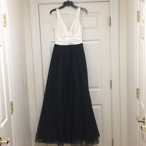 Vera Wang evening gown, worn once